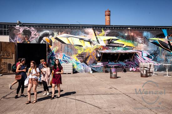 ECOC 2025, European Capitals of Culture, Kanada, Konzert, Kulturhauptstadt Magdeburg, Magdeburg, Magdeburg 2025, Ottostadt, Hip Hop OlymPics, Aerosol-Arena, Graffiti –  Foto Wenzel-Oschington.de
