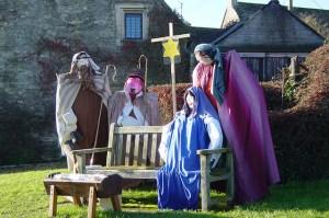 Nativity Scene on The Green