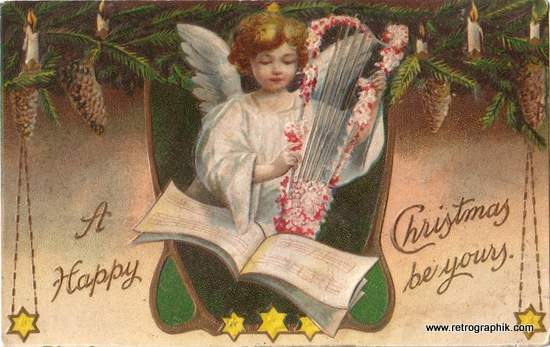 Christmas Angel -Vintage Image