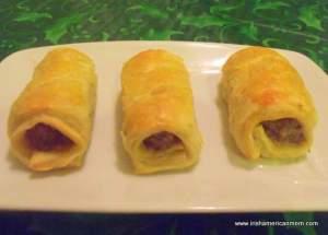 Three Irish Sausage Rolls
