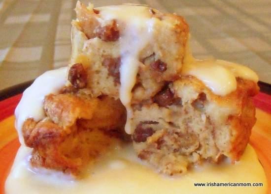 Bread Pudding with Custard