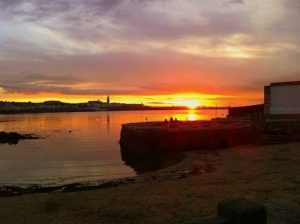 Sunset at Sandycove, Co. Dublin