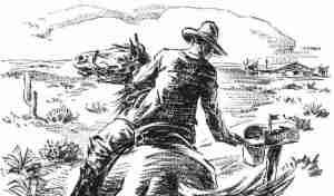 Pony Express - Vintage Clipart