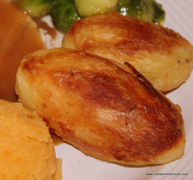 Crispy Roast Potatoes | Irish American Mom