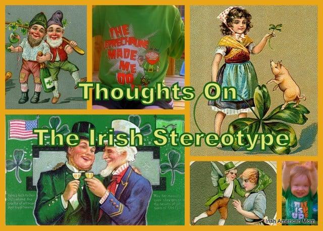 Irish Stereotype Collage