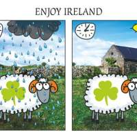 Giveaway Time - Quirky Irish Art by Olyart