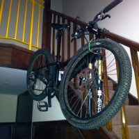 DIY Bike Storage Solution