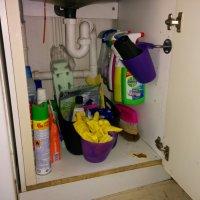 Under sink storage  #POTD