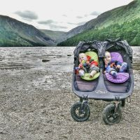 Despite 3/4s of this family feeling horrible we still made it out to #Glendalough for a walk #POTD