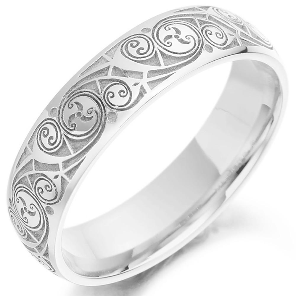irish wedding rings bands celtic wedding rings irish wedding rings Celtic Wedding Ring Mens Gold Celtic Spiral Triskel Irish Wedding Band