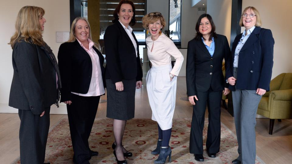 Dress for Success suits and self-belief for women seeking work