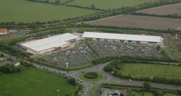 Naas retail park at Newhall complex on N7 for sale with guide - rent roll form