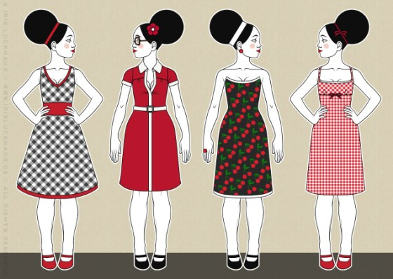 Iris Luckhaus Modezeichnen