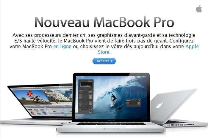 nouveau mac book pro 2011 photos