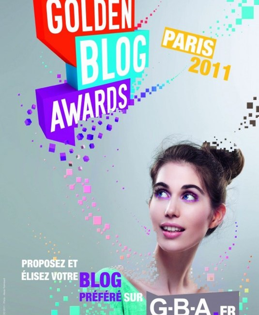 affiche Golden Blog Awards 2011