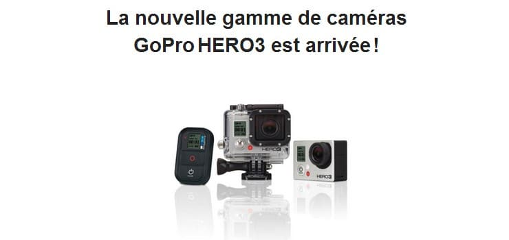 gopro hero 3 new