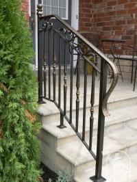 Wrought Iron Exterior Railings Photo Gallery | Iron Master