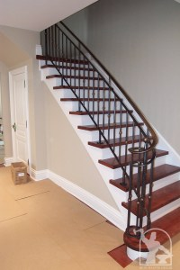Wrought Iron Interior Railings Photo Gallery | Iron Master