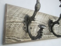 Shabby chic coat rack | Ironmongery World