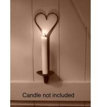 Gothic wall sconce candle holder | Ironmongery World