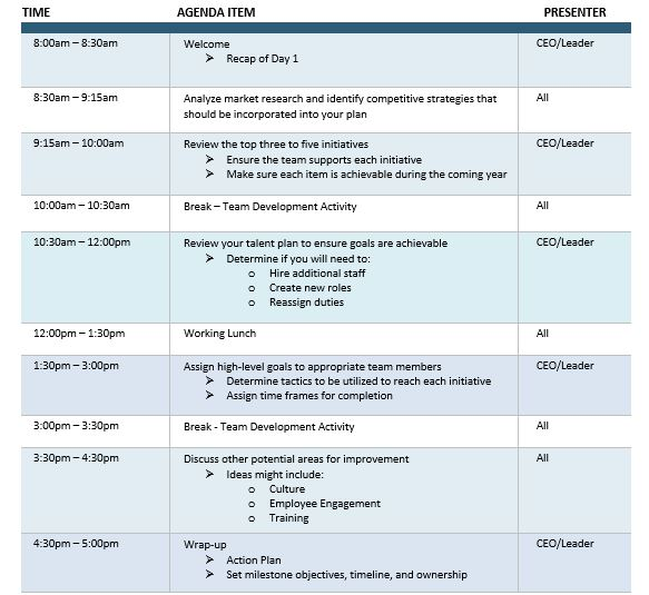planning agenda template - Intoanysearch - outlook meeting agenda template