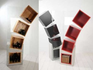 Homemade Storage Shelf Designs