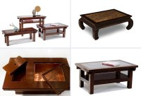 wooden coffee table designs - Iroonie.com