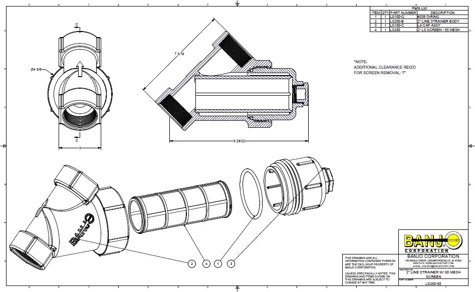 banjo parts diagram