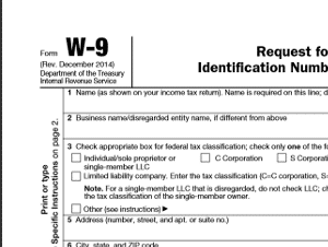Find A W9 Form To Print | Professional resumes sample online