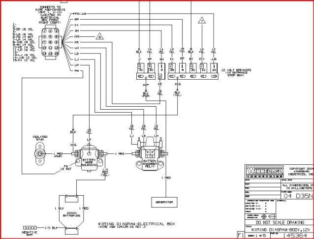 wiring diagrams for motorhomes