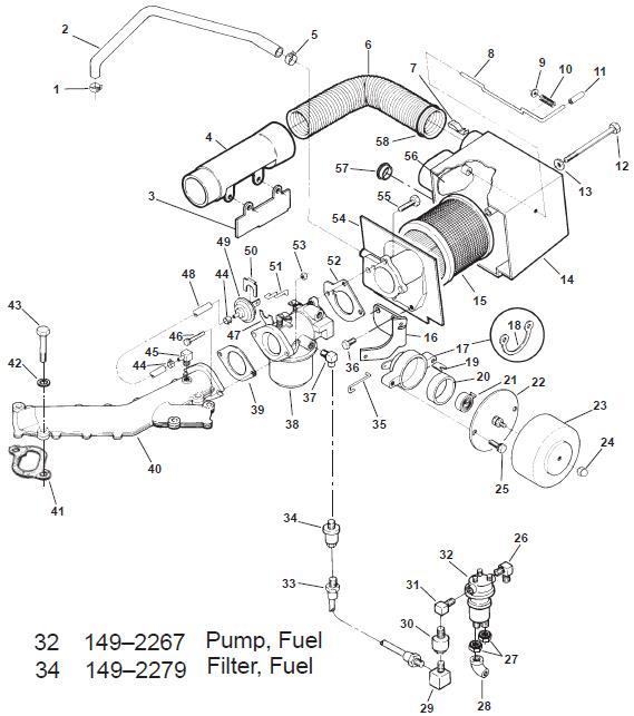 fuel filter generac q 55g
