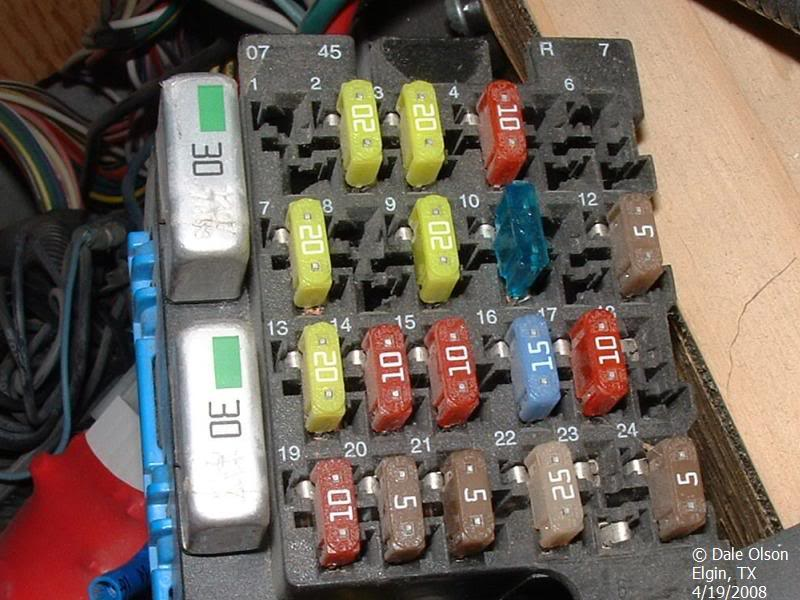 W22 Tail Light Fuses - iRV2 Forums