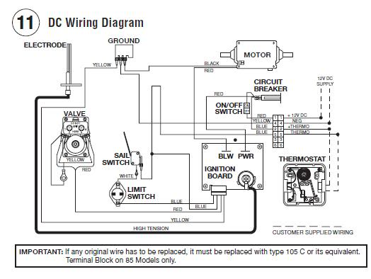 atwood thermostat wiring diagram