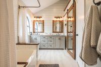 Modern Farmhouse Bathroom Before & After - Irwin Construction