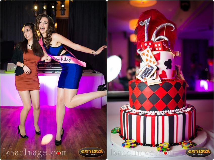 sweet sixteens cake