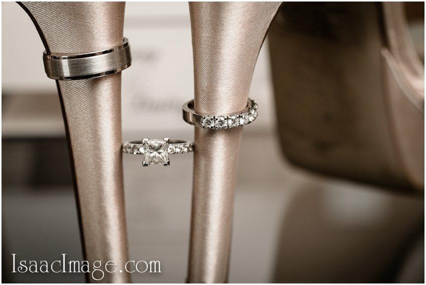 wedding shoes rings