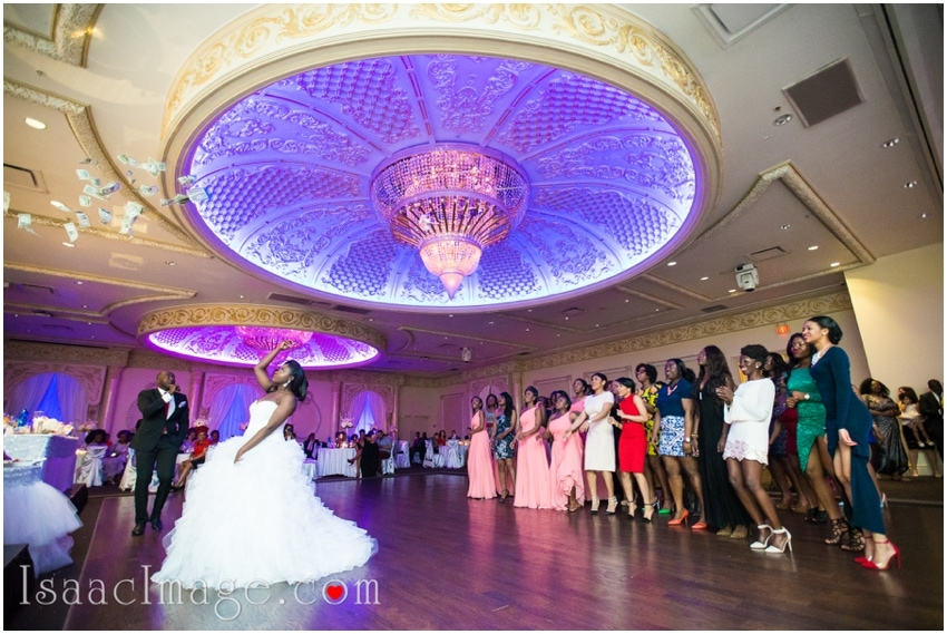 tossing the bouquet