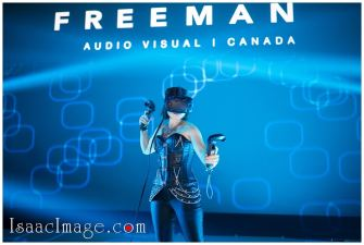 Corporate events photography Virtual reality