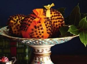 Arance e chiodi di garofano