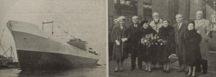 Στις 7 Μαρτίου 1962 καθελκύστηκε από σκωτσέζικα ναυπηγεία το φορτηγό πλοίο «Margo», χωρητικότητας 13.000 τόνων d.w. Το «Margo» υπήρξε το δέκατο κατά σειρά πλοίο του Ν. Ευσταθίου, το οποίο ναυπηγήθηκε μετά τη λήξη του Β' Παγκόσμιου Πολέμου. Στην εικόνα παρουσιάζεται το νεότευκτο φορτηγό καθώς και η ανάδοχος του πλοίου Μαριέττα Ευσταθίου. [Ναυτικά Χρονικά, αρ. 645/404, 15 Απριλίου 1962]