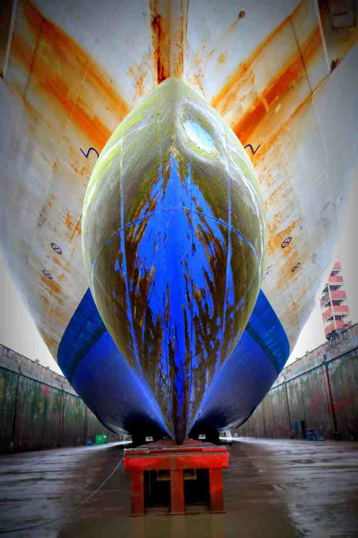 1. Damen Shipyard dry dock. Credits to Areti Priovolou