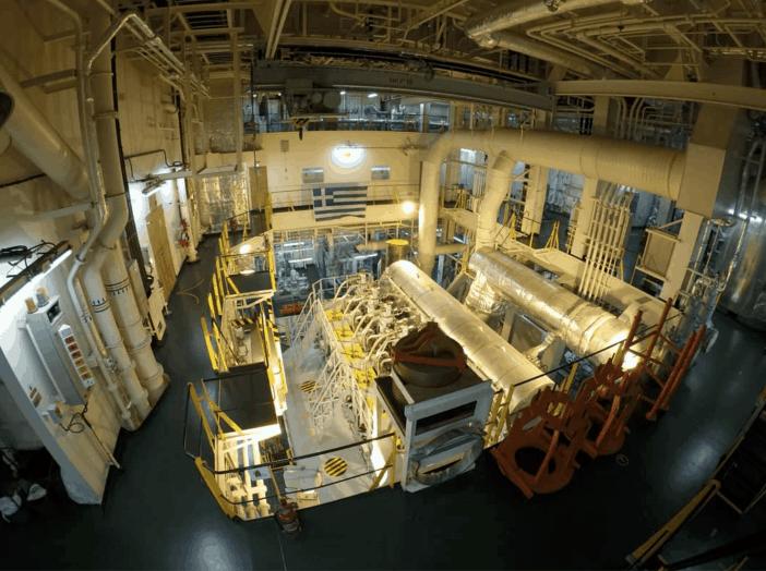 2. Engine room. Credits to Christos Met