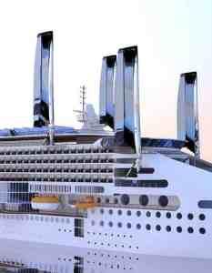 Στα σκαριά κρουαζιερόπλοιο με ανεμογεννήτριες και φωτοβολταϊκά πανιά