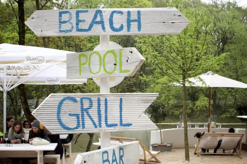 Ab an den Strand!