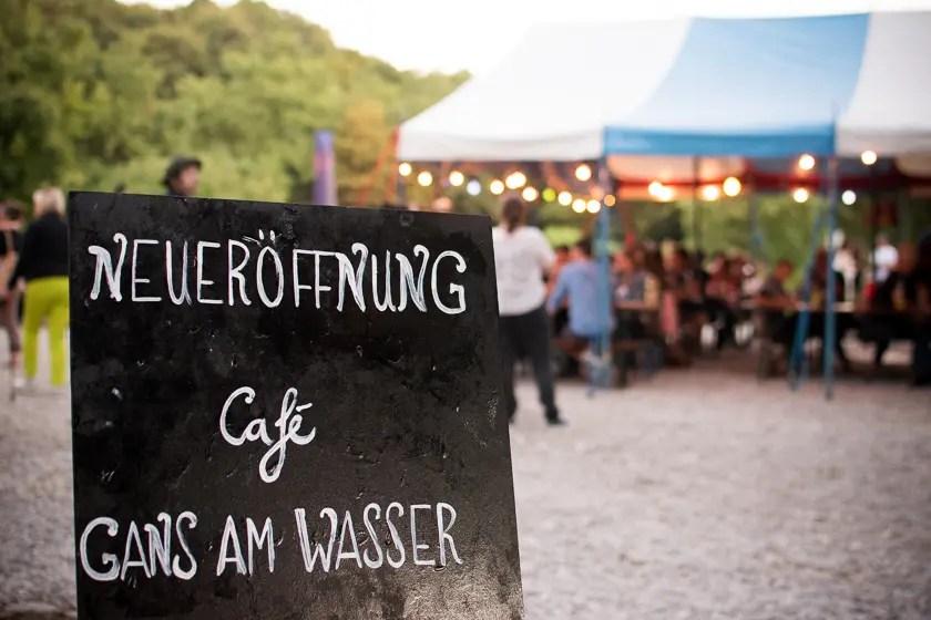 Neues im Westen: Cafe Gans am Wasser