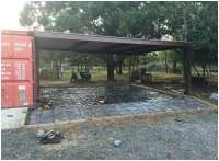 Shipping Container Carport and Storage Idea - iSaveA2Z.com