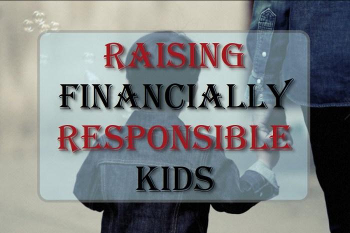 Raising Financially Responsible Kids