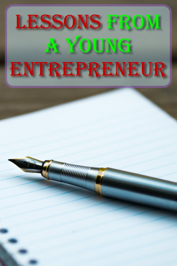Lessons From A Young Entrepreneur