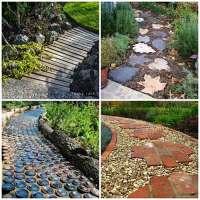 27 Unique and Creative DIY Garden Path Ideas  iSeeiDoiMake