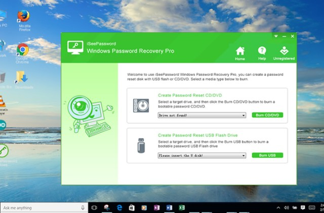use windwos password recovery to bypass your windows password